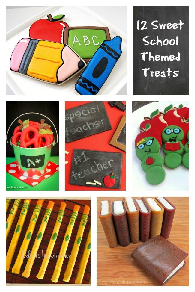 12 Sweet School Themed Treats