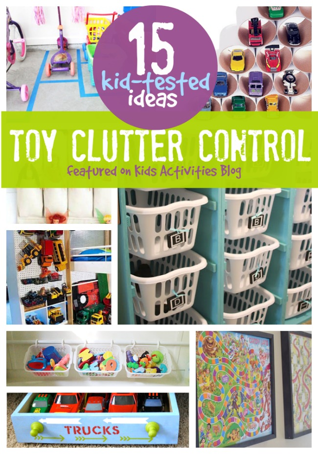 How To Organize Toys Kids Activities