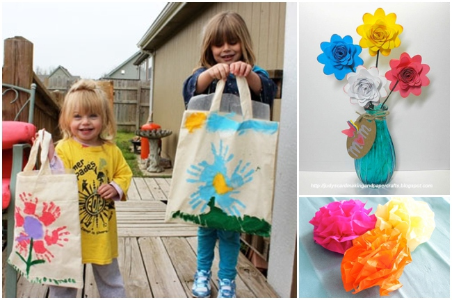 21 Pretty Petaled Projects to Make for Mom on Mother's Day!