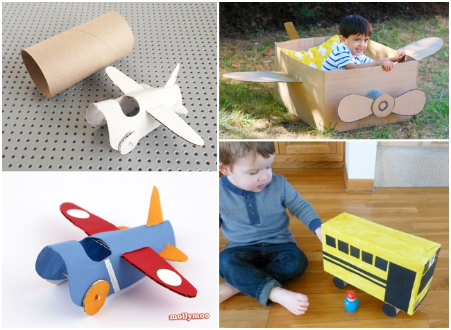 Creating from our recycle bin 30 of the best cardboard for Craft box for toddlers