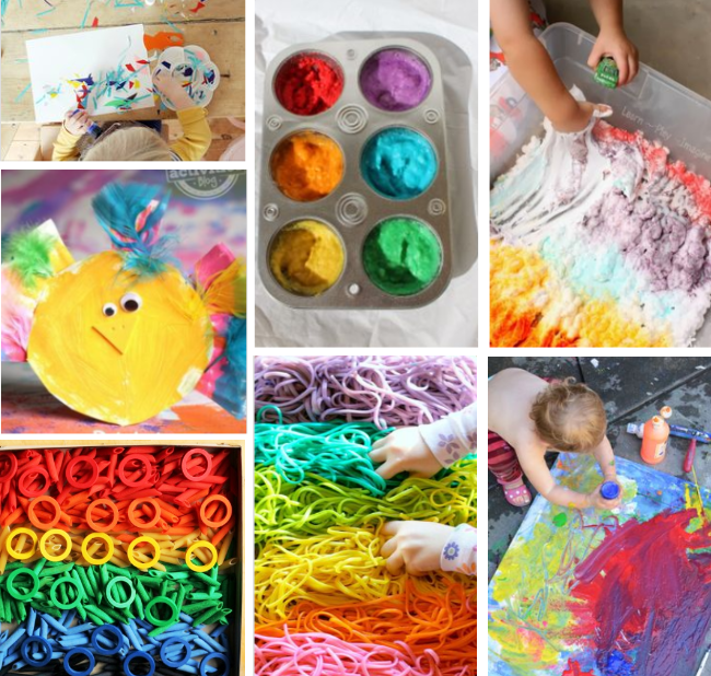 80 of the best activities for 2 year olds for Painting ideas for 4 year olds