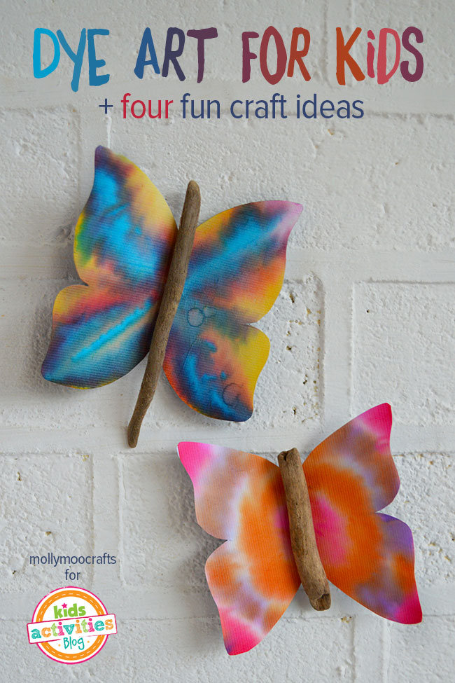 Dye Art Projects For Kids Without The Mess