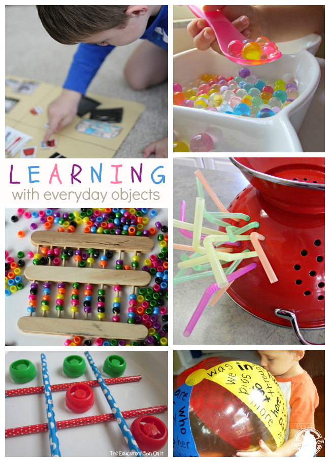 13 Ways to Learn with Everyday Objects