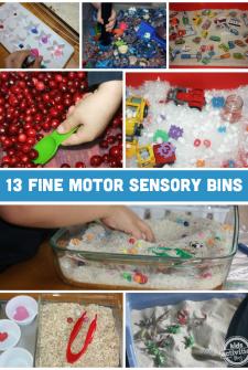 Fine-Motor-Sensory-Bins