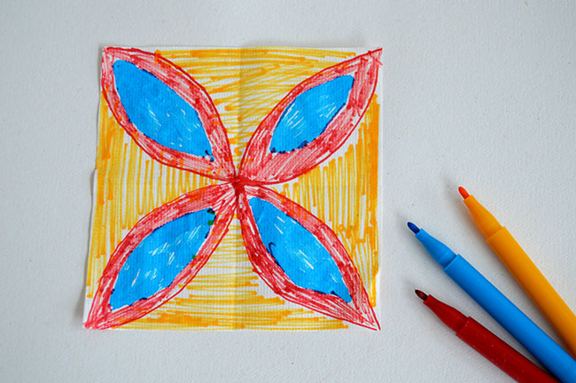 Dye art projects for kids without the mess for Cool art projects with paper