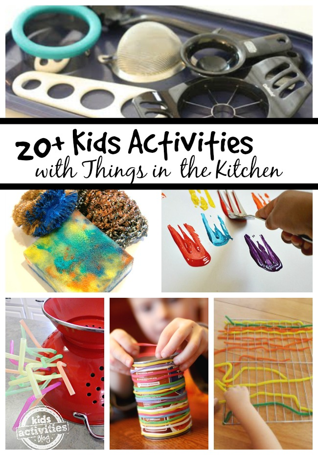 Play ideas with kids in the kitchen