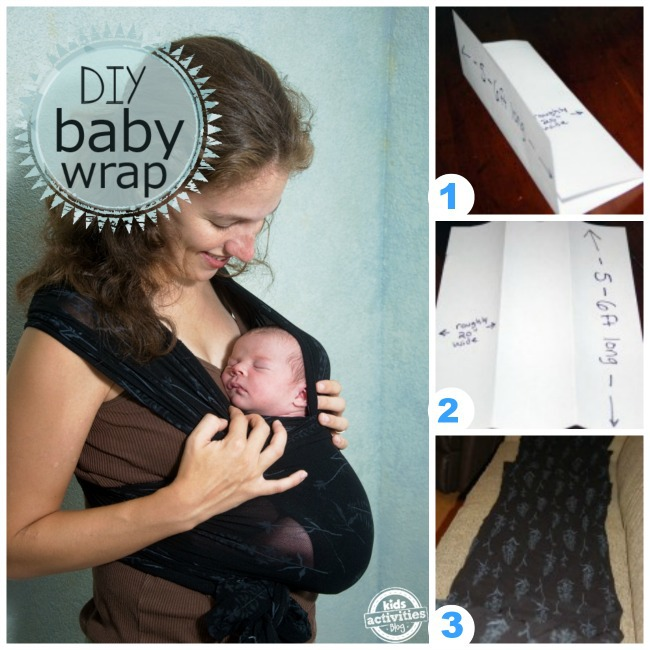 How To Make A No Sew Baby Wrap