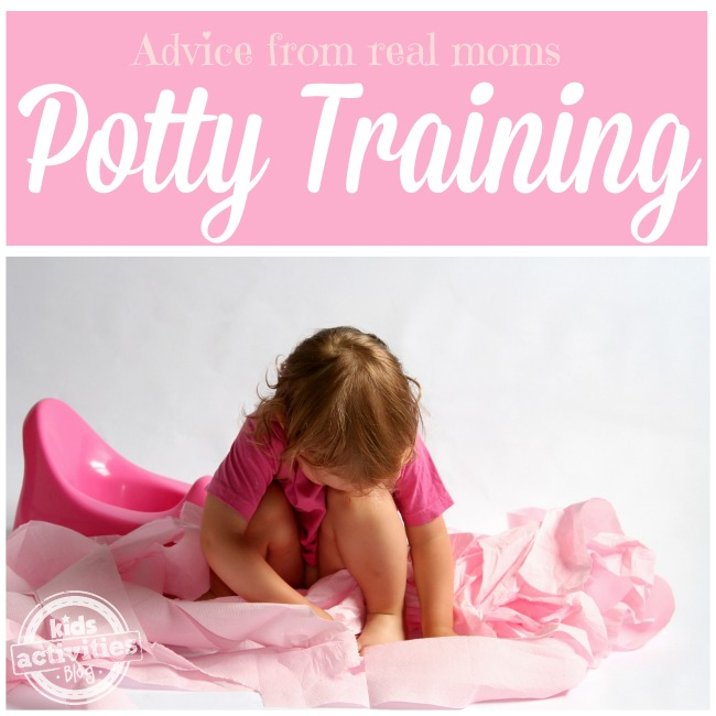 Potty Training Tips from Real Moms - Kids Activities Blog