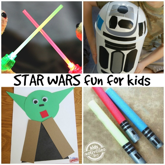 image regarding Star Wars Printable Crafts named 10 Enjoyable Star Wars Actions and Crafts for Young children