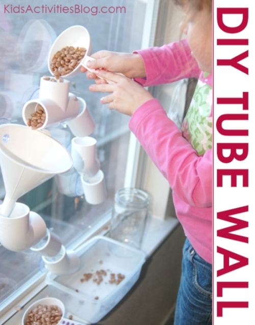 Tube play - create PVC pipes for play