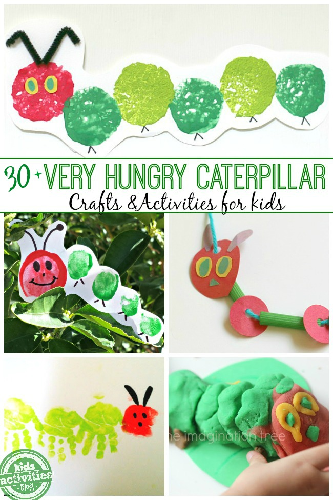 30+ Very Hungry Caterpillar Activities for Kids