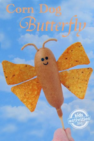 Corn Dog Butterfly