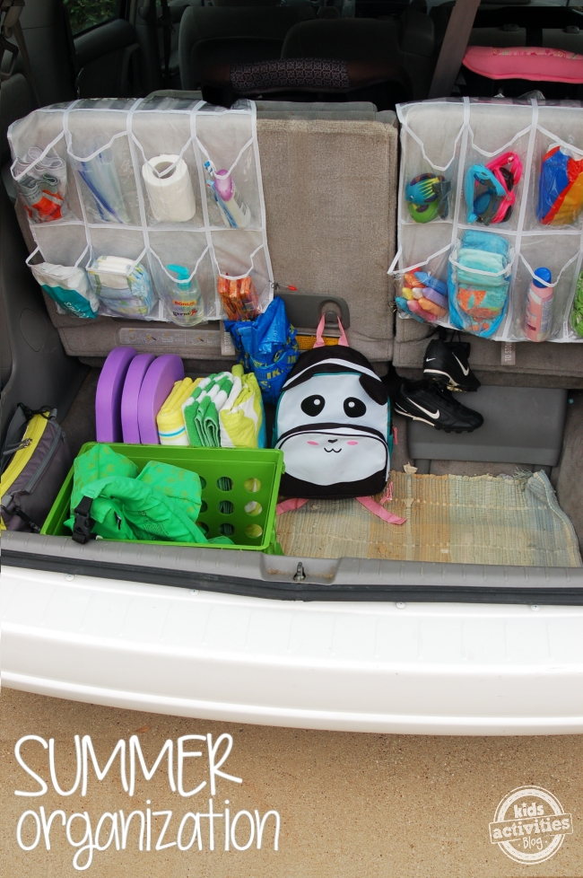ideas to organize a family car