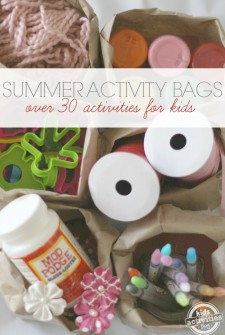{Summer Bucket List} Kids Activity Bags