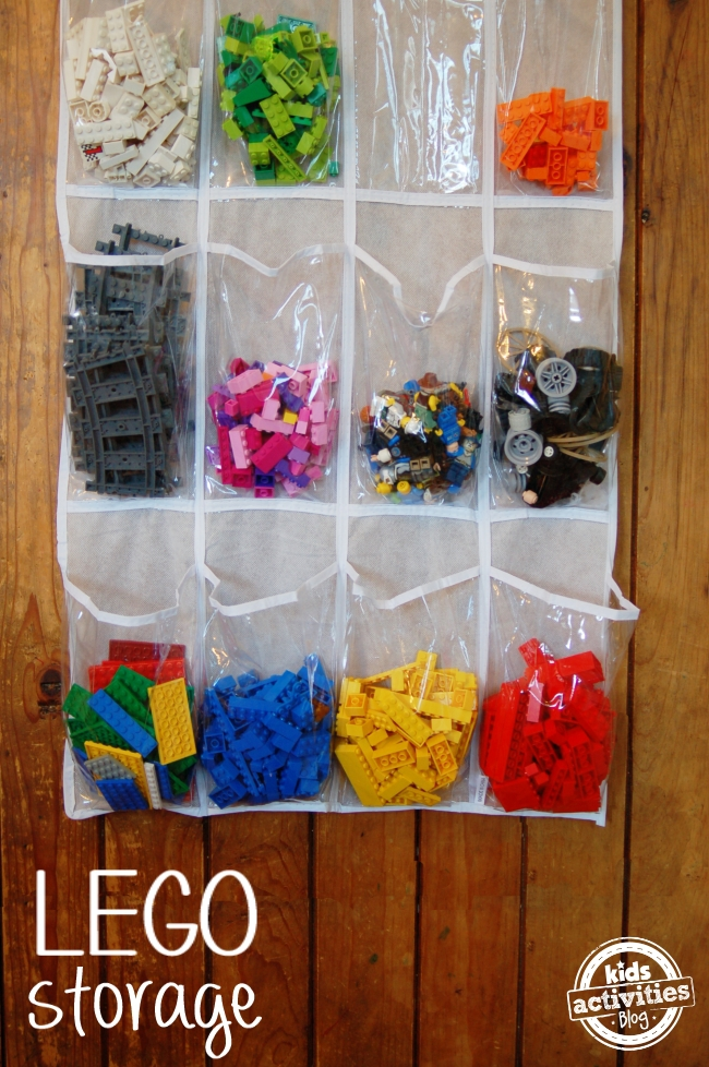 nifty lego storage ideas