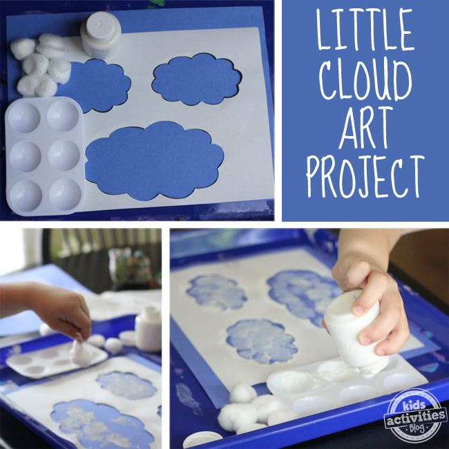 Cloud Art Inspired By Eric Carle