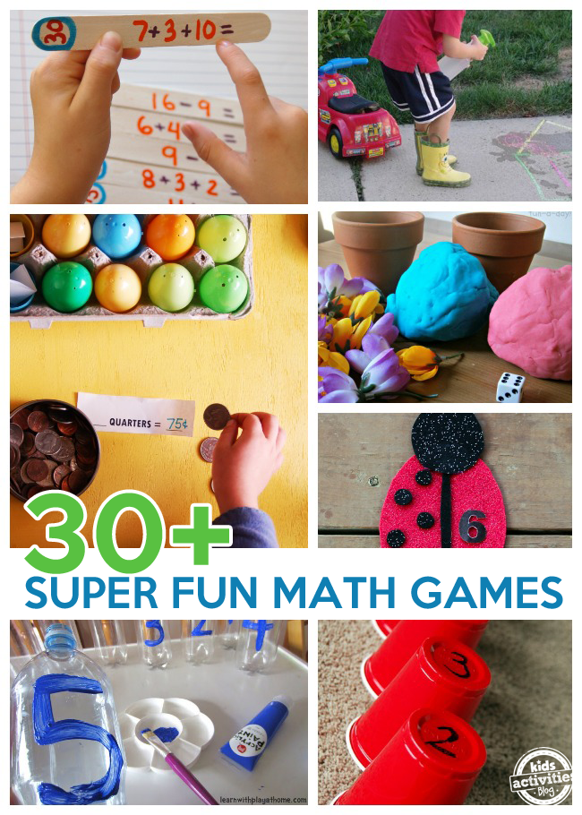 30+ Super Fun Math Games