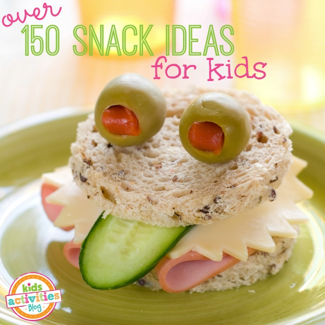More than 150 snack ideas for kids for Halloween snack ideas for kindergarteners