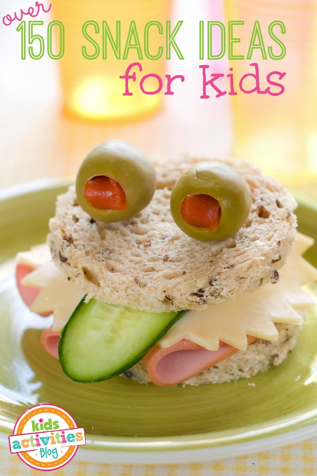 More Than 150 Snack Ideas For Kids Activities Blog
