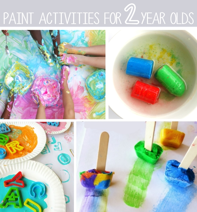 crafts for 2 year olds toddler art 80 of the best activities for 2 year olds 13568