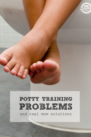 Potty Training Problems (And Solutions!)