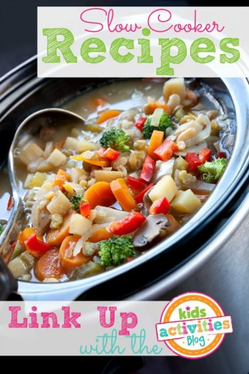 Slow cooker recipes from the Kids Activities Blog