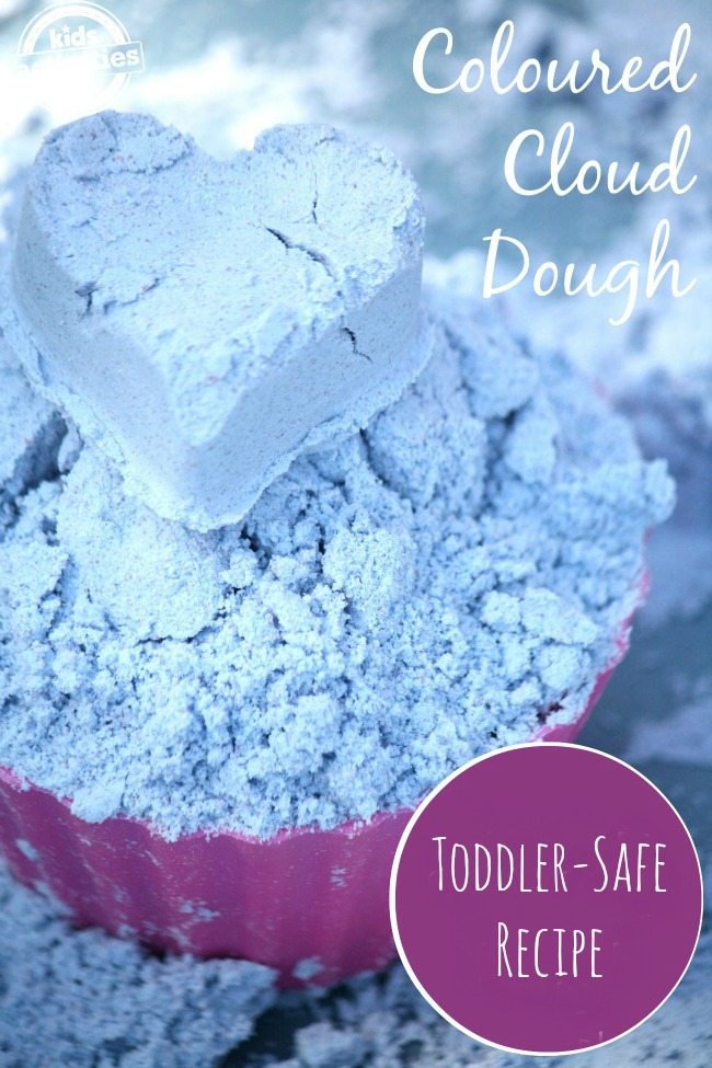 Toddler-Safe Cloud Dough