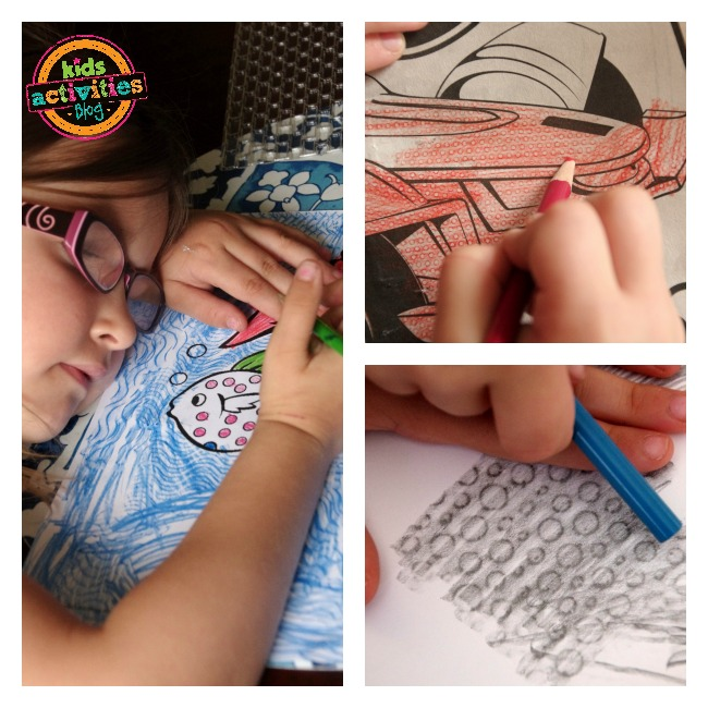textured coloring craft kids activites blog