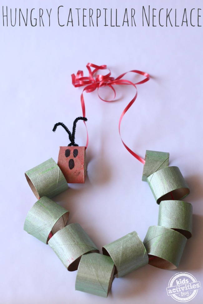 very hungry caterpillar toilet paper roll crafts