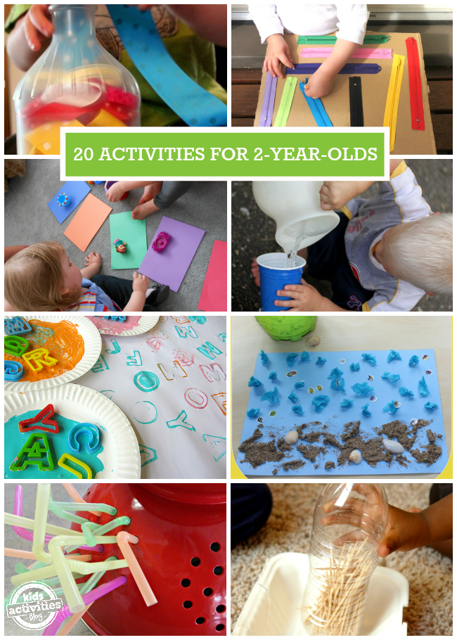 20 Activities For 2 Year Olds