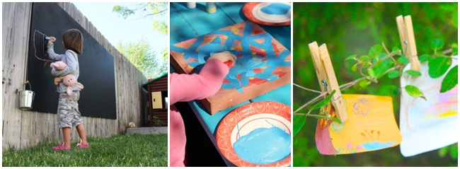 Outdoor Art Ideas For Kids