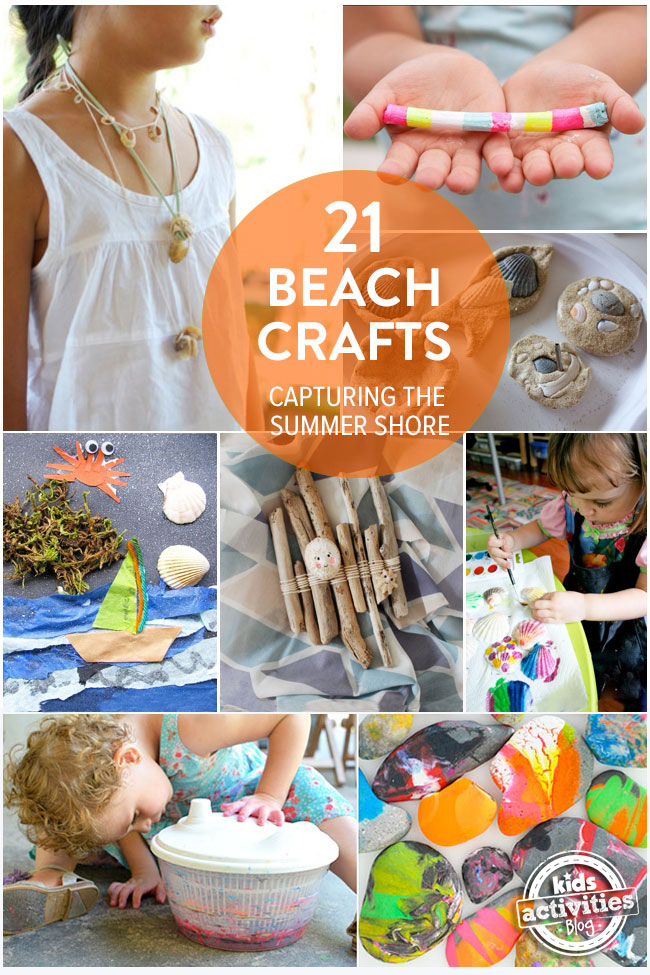 21 beach crafts