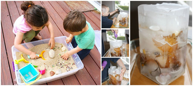 21 beach crafts from Kids Activities Blog