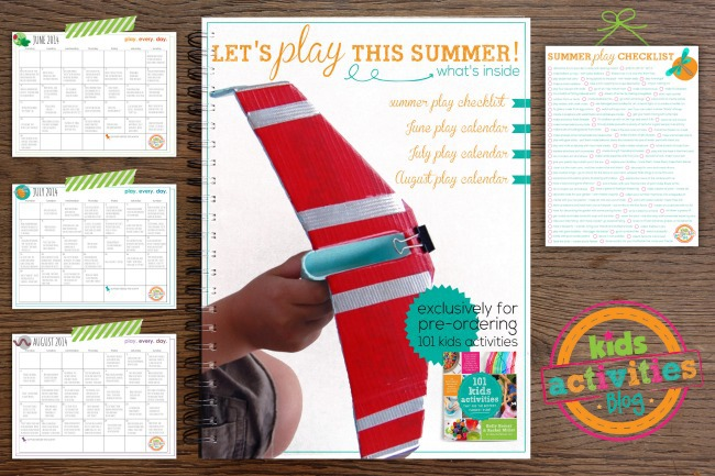 Summer Play Packet from Kids Activities Blog