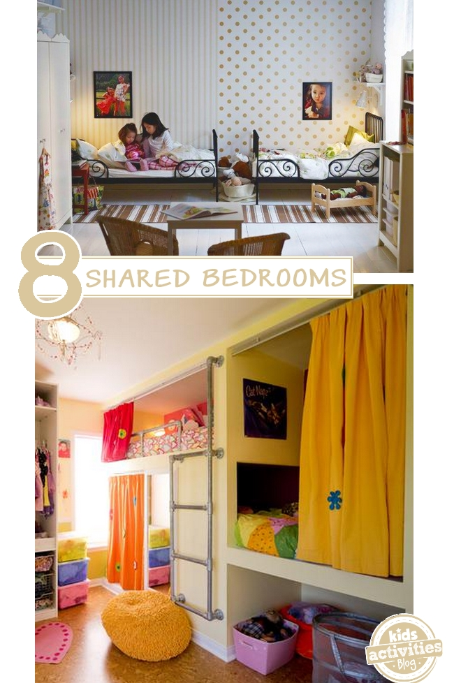 Boy girl shared bedroom ideas for Bedroom ideas for girls sharing a room