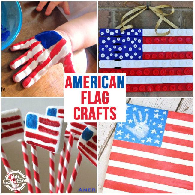 30 American Flag Crafts