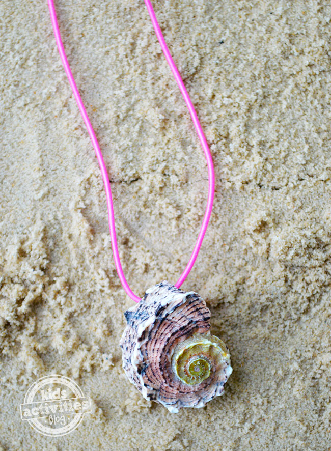 How to make your own seashell necklace