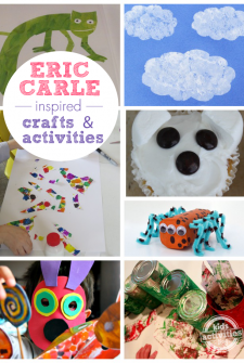 15 Crafts and Activities Inspired by Eric Carle Books