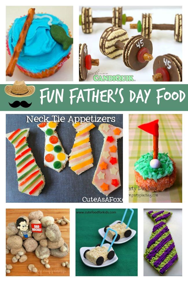 Fun Father's Day Food