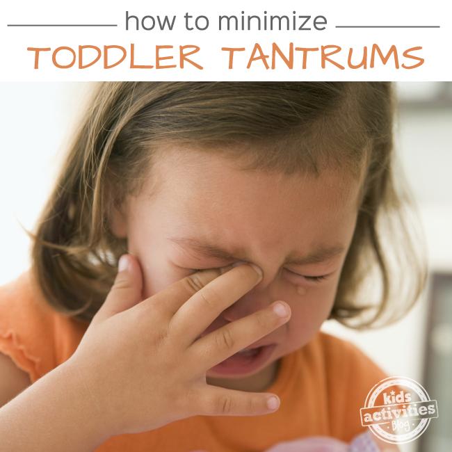 How To Minimize Toddler Tantrums