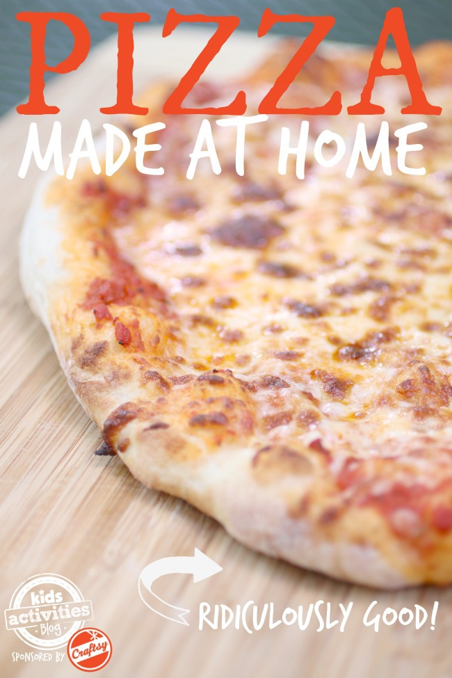 Pizza Made at Home - Kids Activities Blog - Craftsy