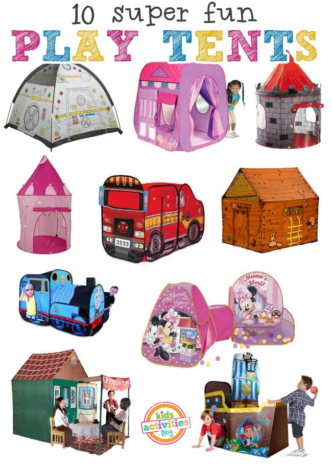 10 Super Fun Play Tents