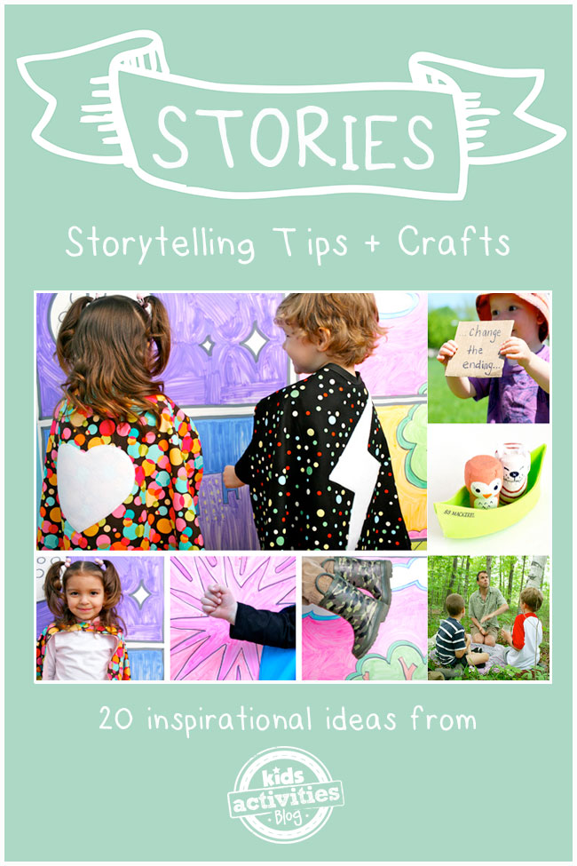 Craft for kids - Magazine cover