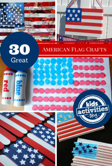 30 American Flag Crafts