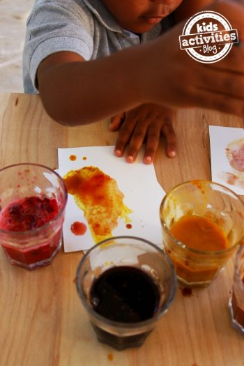 edible paint made from spices