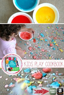 fizzing paint with kids activities blog