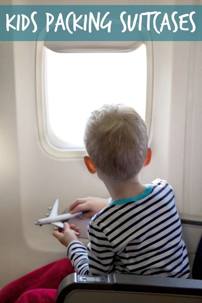 kids packing suitcases - Kids Activities Blog
