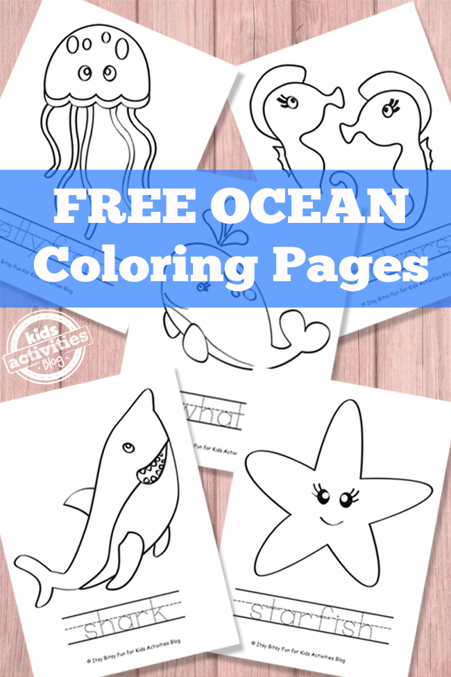 picture regarding Free Printable Ocean Pictures named Ocean Coloring Webpages Absolutely free Printable