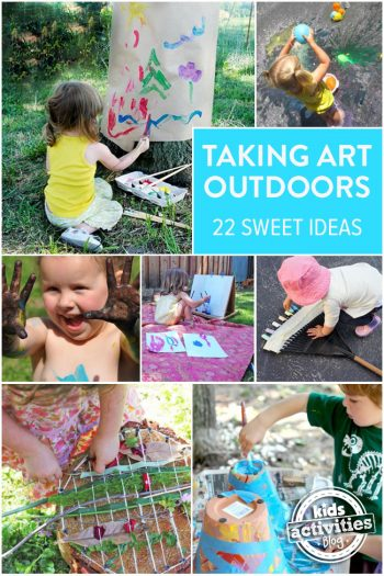 Outdoor Art Ideas For Kids