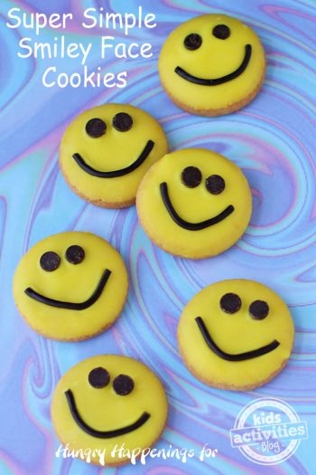 Smiley Face Cookies